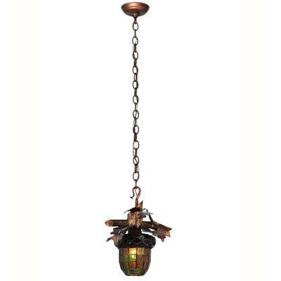 Acorn Branch 1-Light Mini Pendant