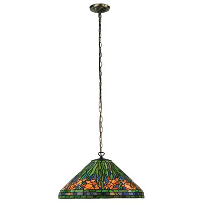 Hanging Daffodil 1-Light Bowl Pendant