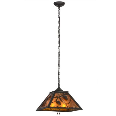 Whispering Pines 2-Light Pendant Finish: Oil Rubbed Bronze