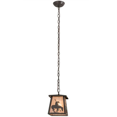 Trail's End Lantern 1-Light Pendant