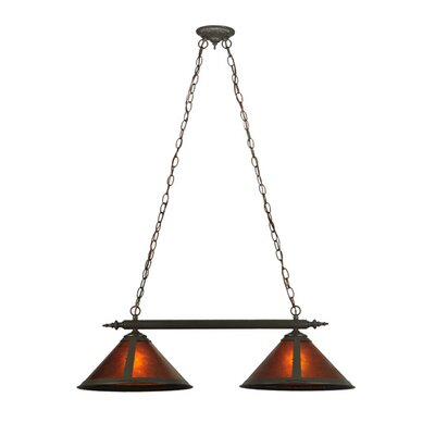 Van Erp 2-Light Kitchen Island Pendant