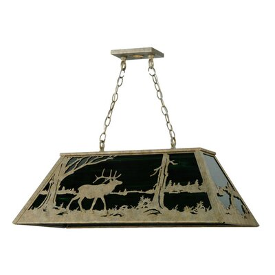 Elk at Lake 6-Light Kitchen Island Pendant