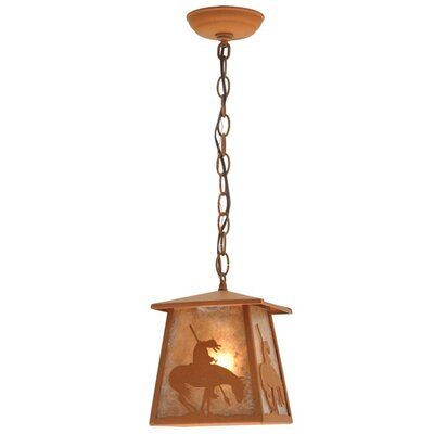Trails End Lantern 1-Light Pool Table Light