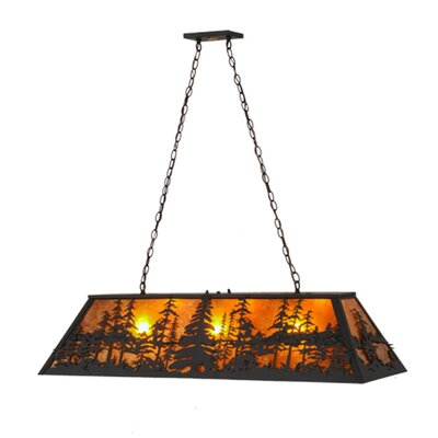 Tall Pines 3-Light Billiard Pendant