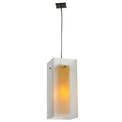 Quadrato Shadow Box 1-Light Mini Pendant 127359