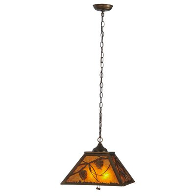 Whispering Pines 2-Light Pendant Finish: Antique Copper