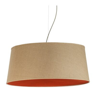 Bruges Textrene 5-Light Drum Pendant