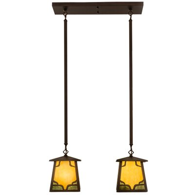 Kirkpatrick 2-Light Kitchen Island Pendant