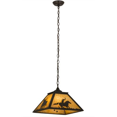 Rustlers 2-Light Pendant