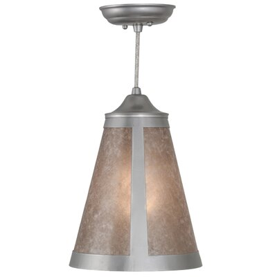 Mission Cantilever 1-Light Mini Pendant