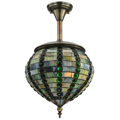 Beehive 1-Light Globe Pendant