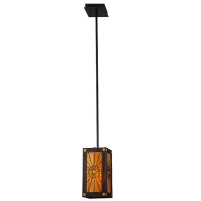 Delfriscos Dimmable 1-Light Mini Pendant