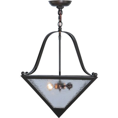Zale 2-Light Inverted Pendant