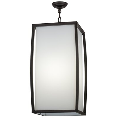 Quadrato Kitzi 1-Light Foyer Pendant Size: 33 - 63 H x 21.25 W x 21.25 D
