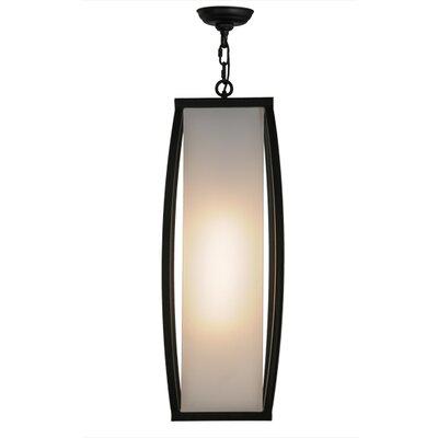 Quadrato Kitzi 1-Light Foyer Pendant Size: 35 - 64 H x 15 W x 15 D