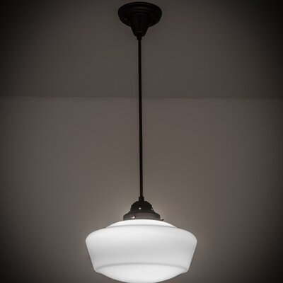 Revival 1-Light Schoolhouse Pendant