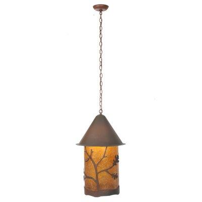 Oak Leaf and Acorn 1-Light Mini Pendant