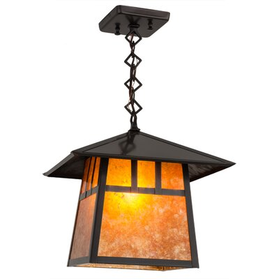Stillwater Double Bar Mission 1-Light Mini Pendant