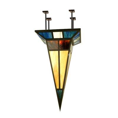Polaris 1-Light Semi-Flush Mount