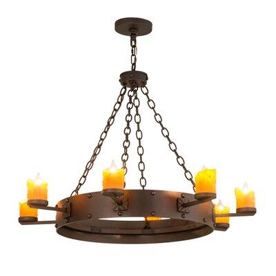Kingston 8-Light Candle-Style Chandelier