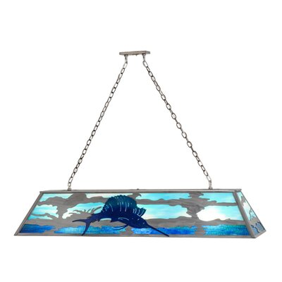 Sailfish 9-Light Pendant