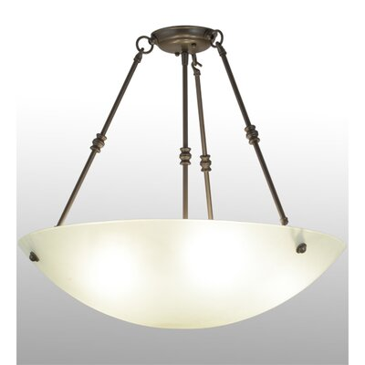 Greenbriar Oak Semi-Flush Mount