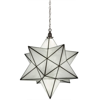 Moravian Star 1-Light Pendant