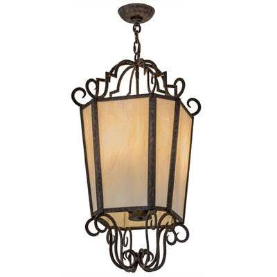 Greenbriar Oak Marin 4-Light Pendant