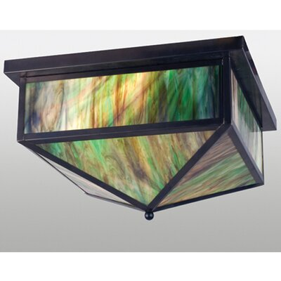 Craftsman 2-Light Flush Mount