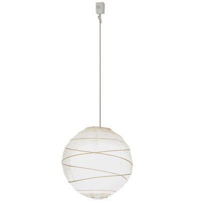 Greenbriar Oak 1-Light Globe Pendant Size: 200 H x 19 W x 19 D