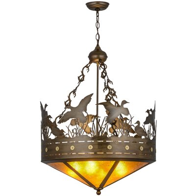 Greenbriar 4-Light Inverted Pendant