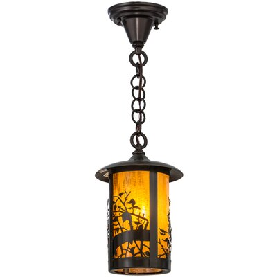 Fulton Apple Blossom 1-Light Mini Pendant