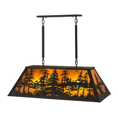 Greenbriar Oak 6-Light Pendant