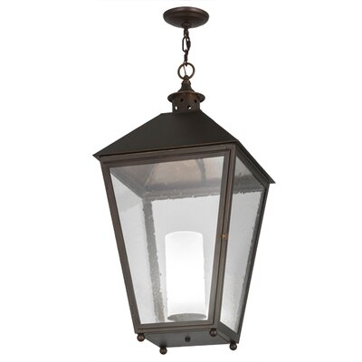 Greenbriar Oak Stafford 1-Light Mini Pendant