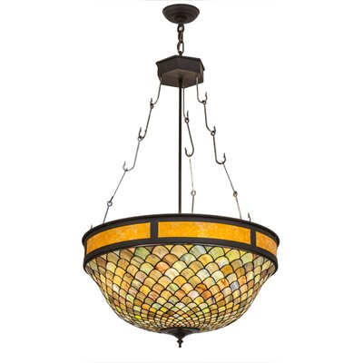 Greenbriar 4-Light Bowl Pendant
