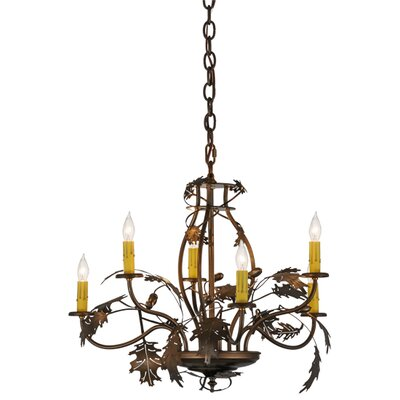 Greenbriar 6-Light Candle-Style Chandelier