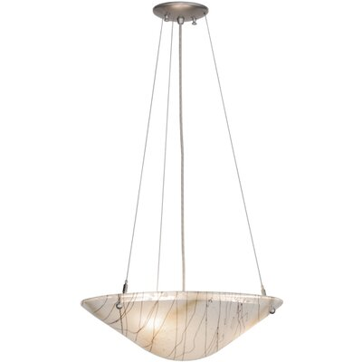 Greenbriar Oak Metro Fusion Ramoscelli 3-Light Inverted Pendant
