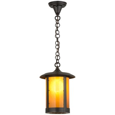 Greenbriar Oak Fulton Prime 1-Light Mini Pendant