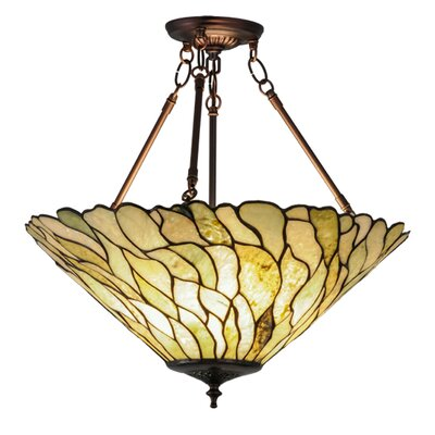 Greenbriar 3-Light Inverted Pendant