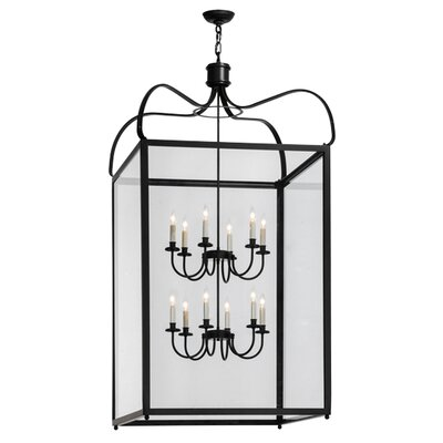 Greenbriar Oak 12-Light Foyer Pendant