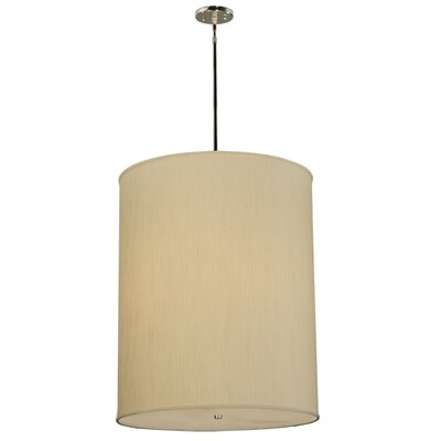 Greenbriar Oak 5-Light Drum Pendant