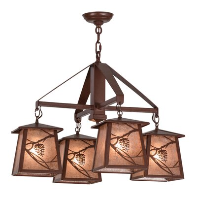 Greenbriar 4-Light Kitchen Island Pendant