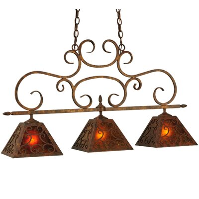 Greenbriar 3-Light Island Pendant