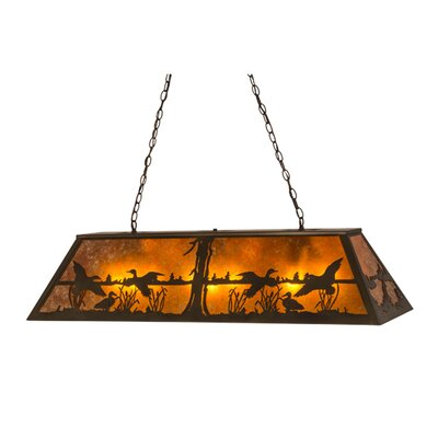Greenbriar Oak 9-Light Pendant