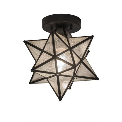 Greenbriar 1-Light Semi Flush Mount
