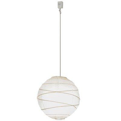 Greenbriar Oak 1-Light Globe Pendant Size: 195 H x 14 W x 14 D