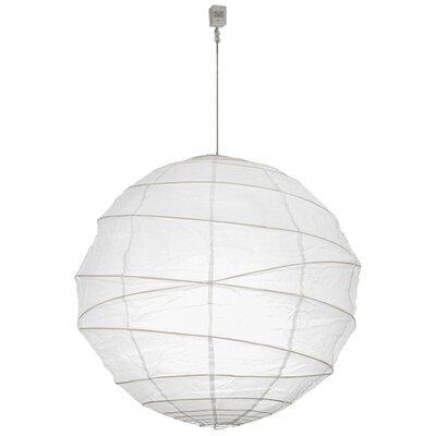 Greenbriar Oak 1-Light Globe Pendant Size: 210 H x 30 W x 30 D