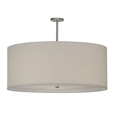 Greenbriar Oak Cilindro 3-Light Drum Pendant