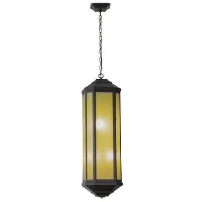 Greenbriar Oak Estelle 4-Light Pendant