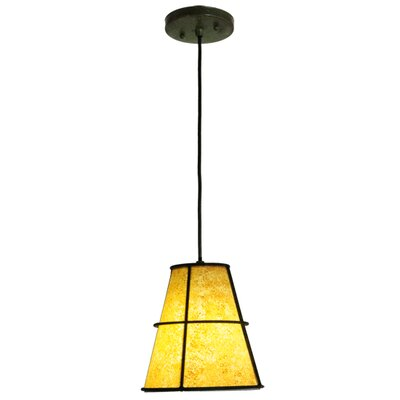 Greenbriar Oak Cilindro Palomino 1-Light Mini Pendant